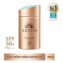 Sữa Chống Nắng Dưỡng Da Anessa Perfect UV Sunscreen Skincare Milk 14573 (60ml)