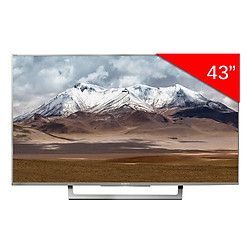 Android Tivi Sony 43 inch KD-43X8000E/S - Bạc