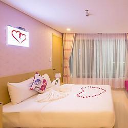 Love Hotel Nha Trang 3* - Giá Đặc Biệt Hè 2018, Buffet Sáng, Gần Biển, Vị Trí Đẹp