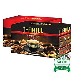 Combo Cà Phê Hòa Tan The Hill Coffee Premium (216g) + Cà Phê Mạnh The Hill Coffee Premium (288g)