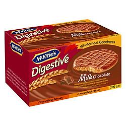 Bánh Mcvitie's Digestive Milk Chocolate (200g)