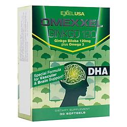 Thực Phẩm Chức Năng Viên Uống Hoạt Huyết Dưỡng Não Omexxel Ginkgo 120 (30 Viên)
