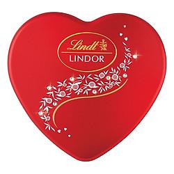 Hộp Quà Yêu Thương: Socola Lindt Lindor Milk Crystal Heart (96g)