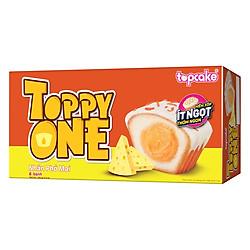 Bánh TOPCAKE Toppy One - Sôcôla Trắng Phô Mai (Hộp 180g)