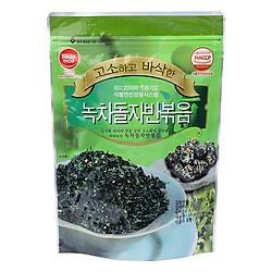 Rong Biển Sấy Khô Badamoa Vị Trà Xanh Roasted Green Tea Laver (55g/Túi)