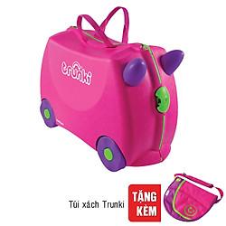 Vali Trẻ Em Trunki - Hồng Dịu Dàng - 0061-GB01