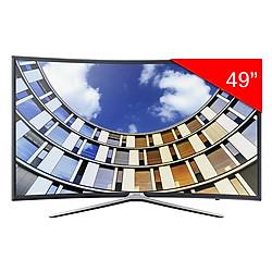 Smart Tivi Màn Hình Cong Samsung 49 inch Full HD UA49M6300AKXXV