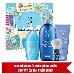 Hộp Quà Chăm Sóc Da Mùa Nắng Senka Perfect Skincare Box - 95550E