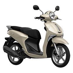 Xe Máy Yamaha Janus Standard 2017 - Trắng Sữa + Tặng Nón Bảo Hiểm, Áo Mưa, Móc Khóa Xe