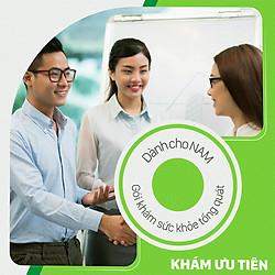 Gói Khám Sức Khỏe Tổng Quát Dành Cho Nam (Độ Tuổi 25 - 40 Tuổi)