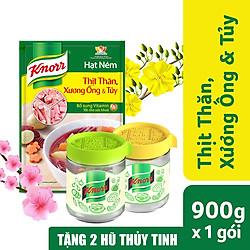 Gói Hạt Nêm Knorr Thịt Thăn Xương Ống Và Tủy (900g) - Tặng 02 Hũ Thủy Tinh Cao Cấp