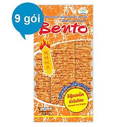 Combo 9 Gói Snack Mực Tẩm Gia Vị Thái Bento (24g x 9 Gói)