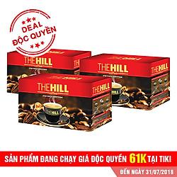 Combo 3 Hộp Cà Phê Hòa Tan The Hill Coffee Premium - HT-H12 (216g / Hộp)