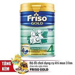 Sữa Bột Frisolac Gold 4 Cho Trẻ Từ 2-4 Tuổi 900g