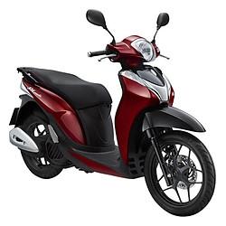 Xe Máy Honda SH Mode Phiên Bản Cá Tính 2018 - Đỏ Đậm - Tặng Nón Bảo Hiểm, Bảo Hiểm Xe Máy, Thảm Xe Máy