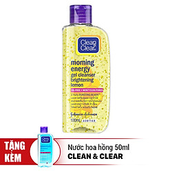 Sữa Rửa Mặt Clean&Clear Morning Energy Facial Wash Energizing Lemon (100ml)