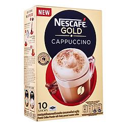 Cà Phê Hòa Tan Cappuccino Nescafe Gold (20.5g x 10 Gói)