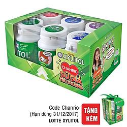 Lốc 6 Hũ Kẹo Gum Xylitol 5 Hương Vị (58g / Hũ)