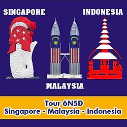 Tour Singapore - Malaysia - Indonesia 6N5Đ, KH Hàng Tuần Tháng 7, 8, 9, 10, 11, 12, Noel