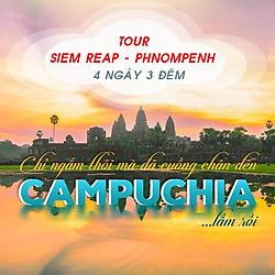 Tour Campuchia: Angkor - Siem Reap - Phnom Penh 4N3Đ, Khởi Hành Thứ 5 Hàng Tuần Và Dịp Lễ