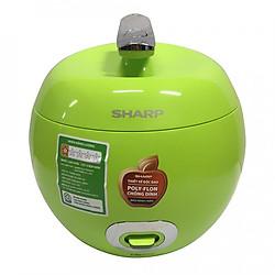 Nồi Cơm Điện Sharp KS-A08V-G (0.72L) - Xanh Lá