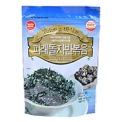 Rong Biển Sấy Khô Badamoa Vị Truyền Thống Roasted Green Stone Laver (55g/Túi)