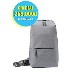 Balo Xiaomi Mi City Sling Bag ZJB4070GL (Light Grey) - Hàng Chính Hãng