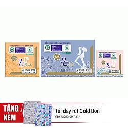 Combo 1 Tháng - Băng Vệ Sinh Hữu Cơ Gold Bon (3 Gói)