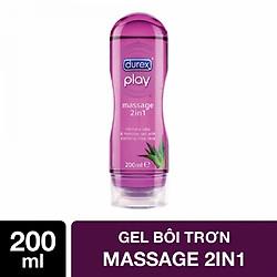 Gel Bôi Trơn Durex Play Massage 74020 (200ml)