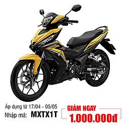 Xe Máy Honda Winner 150 Phiên Bản Thể Thao - Vàng Đen - Tặng Nón Bảo Hiểm, Bảo Hiểm Xe Máy