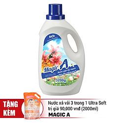 Nước Giặt Tẩy Mạnh Magic A (3200g)