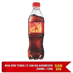 Thùng 24 Chai Nước Giải Khát Có Gas Coca-Cola (390ml / Chai)