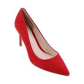 Giày Cao Gót Mũi Nhọn Cao 7cm Royal Walk 075 - Đỏ