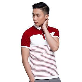 Áo Polo Nam F2 Fashion F2-POM-T173 - Trắng Đỏ