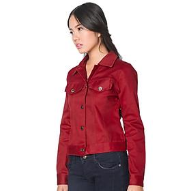 Jacket Ticke Tay Dài Nút Hai Bên Labelle JK2 - Đỏ