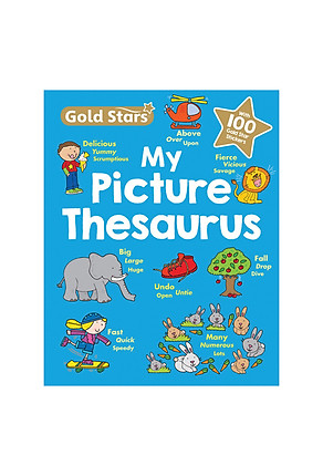 Download sách Gold Stars - My First Picture Thesaurus