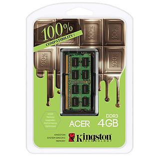 RAM Kingston 4GB DDR3-1600 1.35V For Acer NB- KAC-MEMK/4GFR KAC-MEMKL/4GFR