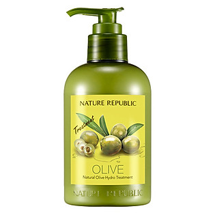 Kem Xả Dưỡng Chất Từ Dầu Olive Nature Republic Natural Olive Hydro Treatment (310Ml)