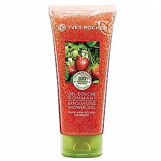 Gel Tắm Tẩy Tế Bào Chết Hương Dâu Tây Yves Rocher Strawberry (200Ml) - Y102141