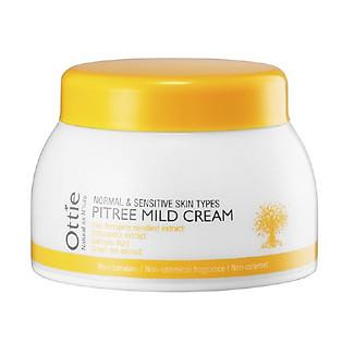 Kem Dưỡng Cho Da Nhạy Cảm Từ Cây Thông Ottie Pitree Mild Cream - 0904 (50Ml)