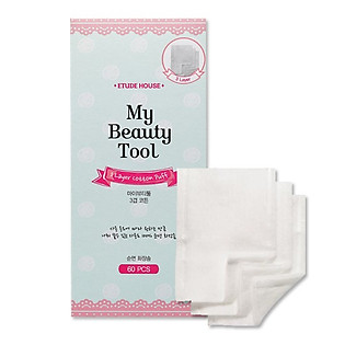 Bông Cotton 3 Lớp Etude House My Beauty Tool 3 Layer Cotton