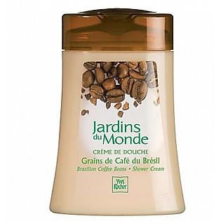 Gel Tắm Cà Phê Yves Rocher Brazil Brazillian Coffee Beans Shower Cream Bottle (200Ml) - Y100257