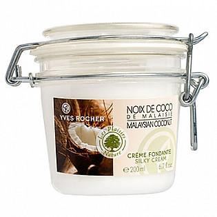 Sữa Dưỡng Thể Hương Dừa Yves Rocher Silky Cream Coconut (200Ml) -Y101001