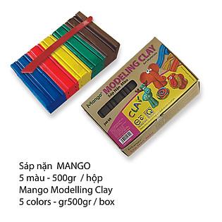 Sáp Nặn 500G MANGO 5 Màu - SN500G 5M