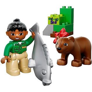 Mô Hình LEGO Duplo Thảo Cầm Viên - 10576
