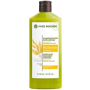 Dầu Gội Dành Cho Tóc Khô Yves Rocher Nutri-Silky Treatment Shampoo (300Ml) - Y101906