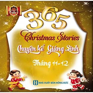 365 Chuyện Kể Giáng Sinh Tháng 11 - 12 (Song Ngữ Anh - Việt)