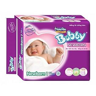 Miếng Lót Bobby Fresh Newborn 1 (72 Miếng)