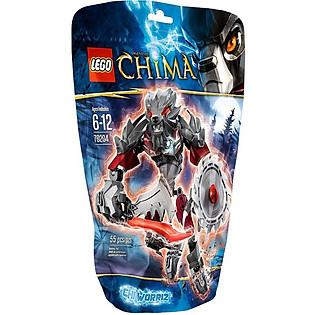DCH - Mô Hình LEGO Chima CHI Worriz (55 Mảnh Ghép) - 70204