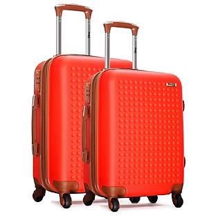 [Set 2 Vali (Size 50-60)] Vali Du Lịch Cao Cấp Trip - P803 -Đỏ